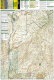 Mazatzal and Pine Mountain Wilderness Areas, Map 850 by National Geographic Maps - Front of map