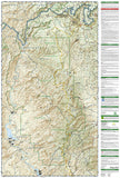 Mazatzal and Pine Mountain Wilderness Areas, Map 850 by National Geographic Maps - Back of map