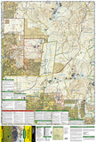 Superstition and Four Peaks Wilderness Areas, Map 851 by National Geographic Maps - Front of map