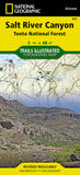 Buy map Salt River Canyon and Tonto National Forest, Map 853 by National Geographic Maps