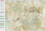 Salt River Canyon and Tonto National Forest, Map 853 by National Geographic Maps - Back of map
