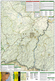 Mogollon Rim and Munds Mountain Wilderness Areas, Map 855 by National Geographic Maps - Front of map