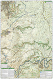 Mogollon Rim and Munds Mountain Wilderness Areas, Map 855 by National Geographic Maps - Back of map
