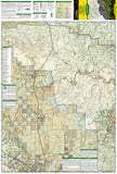 Apache Creek Juniper Mesa, Arizona, Map 857 by National Geographic Maps - Front of map