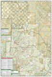 Apache Creek Juniper Mesa, Arizona, Map 857 by National Geographic Maps - Back of map