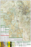 Bradshaw Mountains and Prescott National Forest, AZ, Map 858 by National Geographic Maps - Front of map