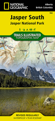 Buy map Jasper, South, Map 902 by National Geographic Maps