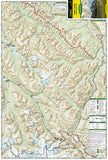 Jasper, South, Map 902 by National Geographic Maps - Front of map