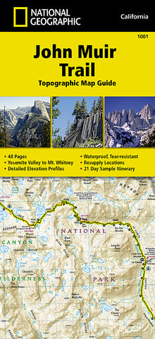 Buy map John Muir Trail Topographic Map Guide by National Geographic Maps