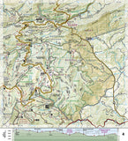 Appalachian Trail Map Guide, Damascus to Bailey Gap by National Geographic Maps - Back of map