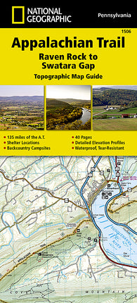 Buy map Appalachian Trail Topographic Map Guide, Raven Rock to Swatara Gap by National Geographic Maps