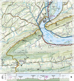 Appalachian Trail Topographic Map Guide, Raven Rock to Swatara Gap by National Geographic Maps - Back of map