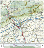 Appalachian Trail Topographic Map Guide, Swatara Gap to Delaware Water Gap by National Geographic Maps - Back of map