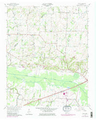 Adair Tennessee Historical topographic map, 1:24000 scale, 7.5 X 7.5 Minute, Year 1959