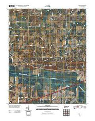Adair Tennessee Historical topographic map, 1:24000 scale, 7.5 X 7.5 Minute, Year 2010