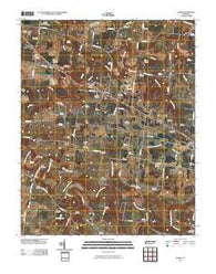 Adams Tennessee Historical topographic map, 1:24000 scale, 7.5 X 7.5 Minute, Year 2010