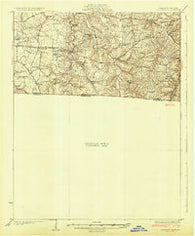 Adolphus Kentucky Historical topographic map, 1:62500 scale, 15 X 15 Minute, Year 1931
