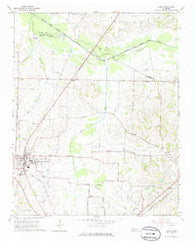 Alamo Tennessee Historical topographic map, 1:24000 scale, 7.5 X 7.5 Minute, Year 1964