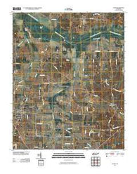 Alamo Tennessee Historical topographic map, 1:24000 scale, 7.5 X 7.5 Minute, Year 2010