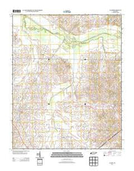 Alamo Tennessee Historical topographic map, 1:24000 scale, 7.5 X 7.5 Minute, Year 2013
