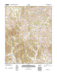 Alexandria Tennessee Historical topographic map, 1:24000 scale, 7.5 X 7.5 Minute, Year 2013