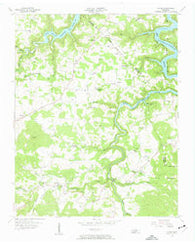 Alpine Tennessee Historical topographic map, 1:24000 scale, 7.5 X 7.5 Minute, Year 1956