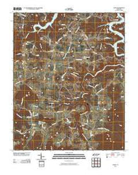Alpine Tennessee Historical topographic map, 1:24000 scale, 7.5 X 7.5 Minute, Year 2010