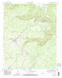 Altamont Tennessee Historical topographic map, 1:24000 scale, 7.5 X 7.5 Minute, Year 1956