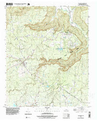 Altamont Tennessee Historical topographic map, 1:24000 scale, 7.5 X 7.5 Minute, Year 1997