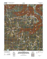 Altamont Tennessee Historical topographic map, 1:24000 scale, 7.5 X 7.5 Minute, Year 2010