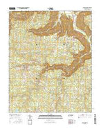 Altamont Tennessee Current topographic map, 1:24000 scale, 7.5 X 7.5 Minute, Year 2016 from Tennessee Map Store