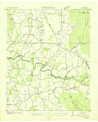 Alto Tennessee Historical topographic map, 1:24000 scale, 7.5 X 7.5 Minute, Year 1936