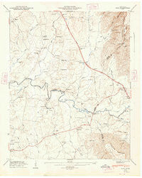 Alto Tennessee Historical topographic map, 1:24000 scale, 7.5 X 7.5 Minute, Year 1947