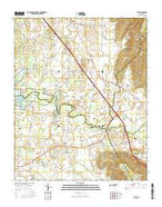 Alto Tennessee Current topographic map, 1:24000 scale, 7.5 X 7.5 Minute, Year 2016 from Tennessee Map Store