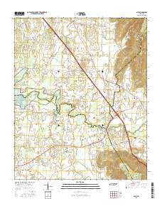Alto Tennessee Current topographic map, 1:24000 scale, 7.5 X 7.5 Minute, Year 2016