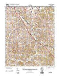 Antioch Tennessee Historical topographic map, 1:24000 scale, 7.5 X 7.5 Minute, Year 2013