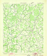 Appleton Tennessee Historical topographic map, 1:24000 scale, 7.5 X 7.5 Minute, Year 1936
