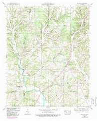 Appleton Tennessee Historical topographic map, 1:24000 scale, 7.5 X 7.5 Minute, Year 1950