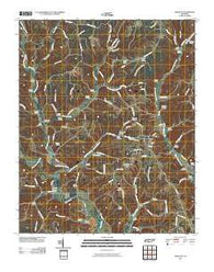 Appleton Tennessee Historical topographic map, 1:24000 scale, 7.5 X 7.5 Minute, Year 2010