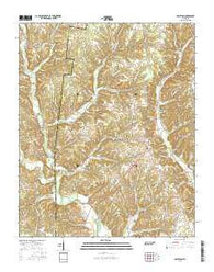 Appleton Tennessee Current topographic map, 1:24000 scale, 7.5 X 7.5 Minute, Year 2016