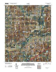 Arlington Tennessee Historical topographic map, 1:24000 scale, 7.5 X 7.5 Minute, Year 2010