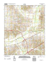 Arlington Tennessee Historical topographic map, 1:24000 scale, 7.5 X 7.5 Minute, Year 2013