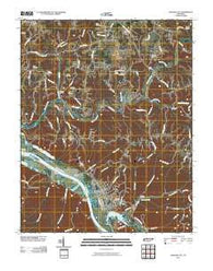 Ashland City Tennessee Historical topographic map, 1:24000 scale, 7.5 X 7.5 Minute, Year 2010