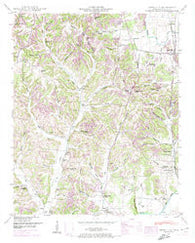 Aspen Hill Tennessee Historical topographic map, 1:24000 scale, 7.5 X 7.5 Minute, Year 1948