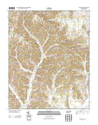 Aspen Hill Tennessee Historical topographic map, 1:24000 scale, 7.5 X 7.5 Minute, Year 2013