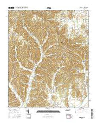 Aspen Hill Tennessee Current topographic map, 1:24000 scale, 7.5 X 7.5 Minute, Year 2016