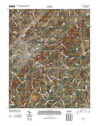 Athens Tennessee Historical topographic map, 1:24000 scale, 7.5 X 7.5 Minute, Year 2010