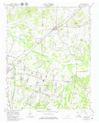 Atwood Tennessee Historical topographic map, 1:24000 scale, 7.5 X 7.5 Minute, Year 1966