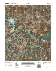 Atwood Tennessee Historical topographic map, 1:24000 scale, 7.5 X 7.5 Minute, Year 2010