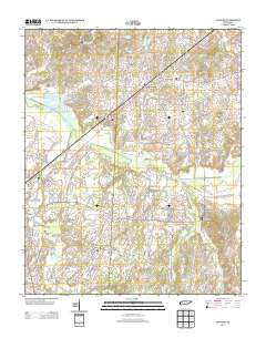 Atwood Tennessee Historical topographic map, 1:24000 scale, 7.5 X 7.5 Minute, Year 2013